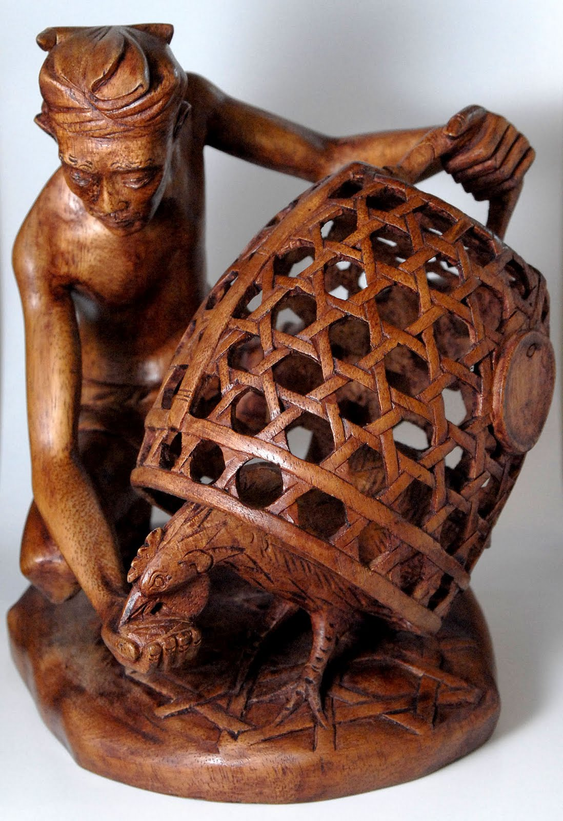 Craft central bali wood carving great form of art