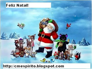 Selinho de Natal para todos meus amigos!