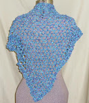 Blue Triangle Scarf