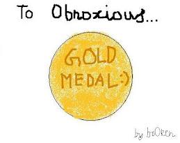 My Gold Medal, Thanks br0ken :P