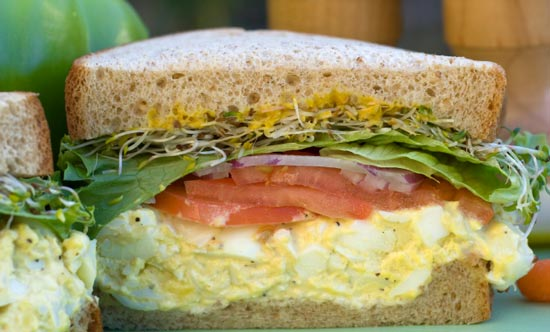 how to make the perfect egg sandwich