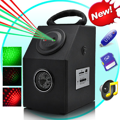 Laser Effects Projector + MP3 Player проектор с плеером