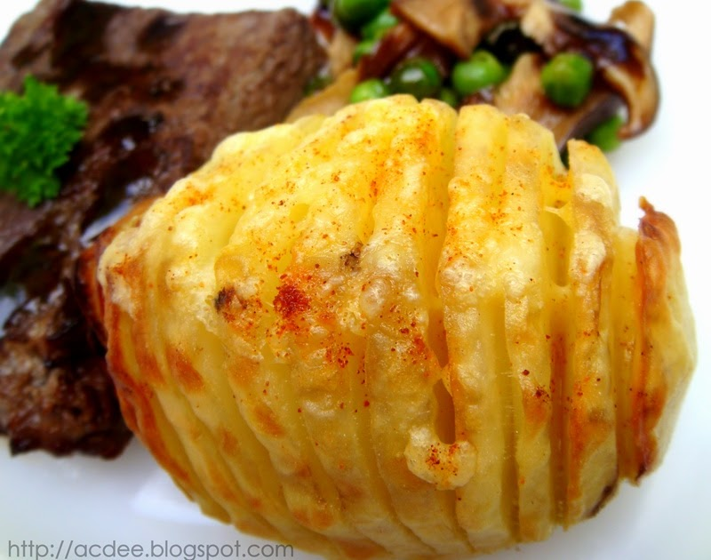 Confession Nook: Baked Potato with Smoked Paprika-Cheddar Cheese