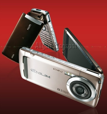 AllGSM: Celular Casio W63CA com 8.1 megapixels