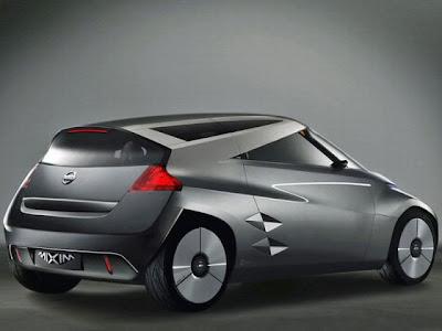 2007 Nissan Mixim Concept. Nissan Mixim, 2007