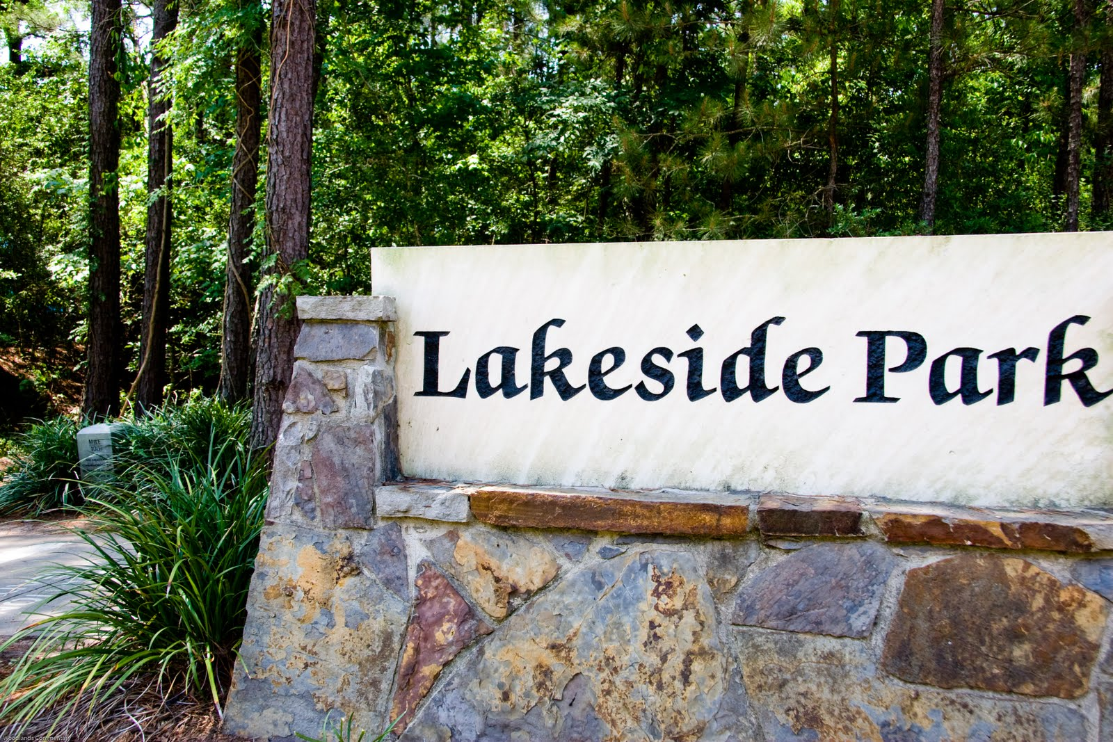 The Woodlands Texas Parks: Lakeside Park in The Woodlands
