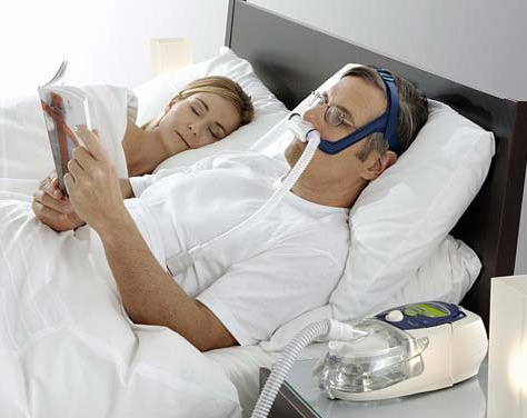 types of breathing machines for sleep apnea