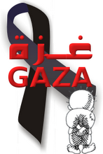 Gaza's Black Ribbon