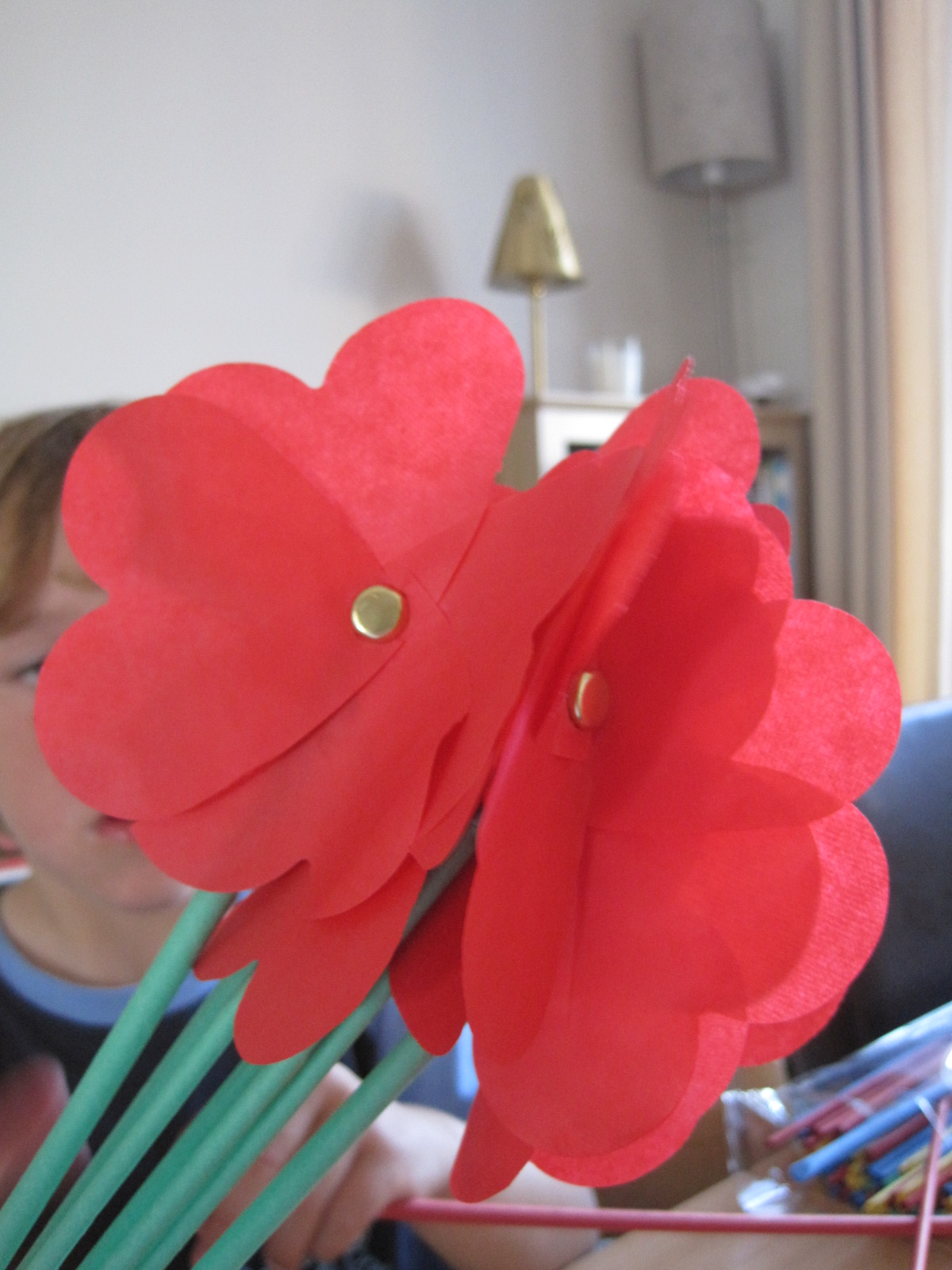 Childrens Craft Showcase How To Make Paper Flowers Mum In The