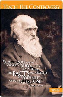 Darwin teach the controversy