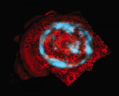 Aurora de Saturno saturn