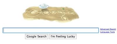 Google doodle círculos nas colheitas - crop circles