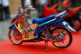 MODIFIKASI HONDA VARIO CROM ELEGAN