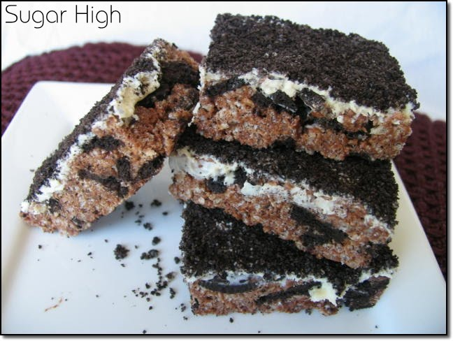 Sugar High: Cookies & Cream Rice Krispie Treats