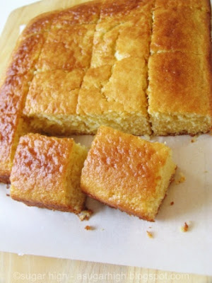 Sugar High: Sweet Honey Cornbread