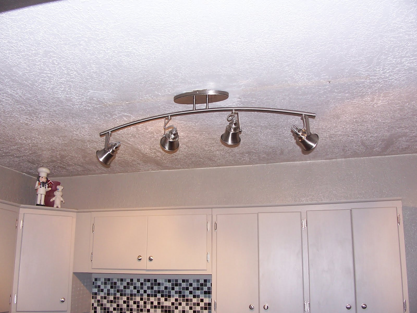 Attic Route Costco Kitchen Light - Nickel kitchen light fixtures