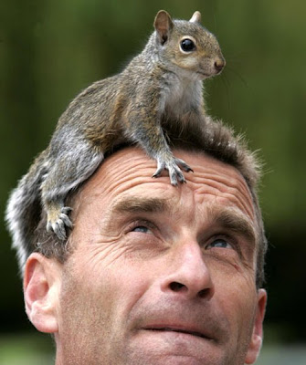 Squirrel+and+man