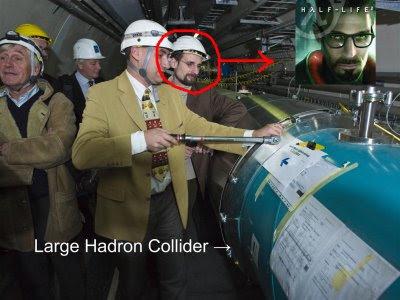 Gordon Freeman Spotted At CERN