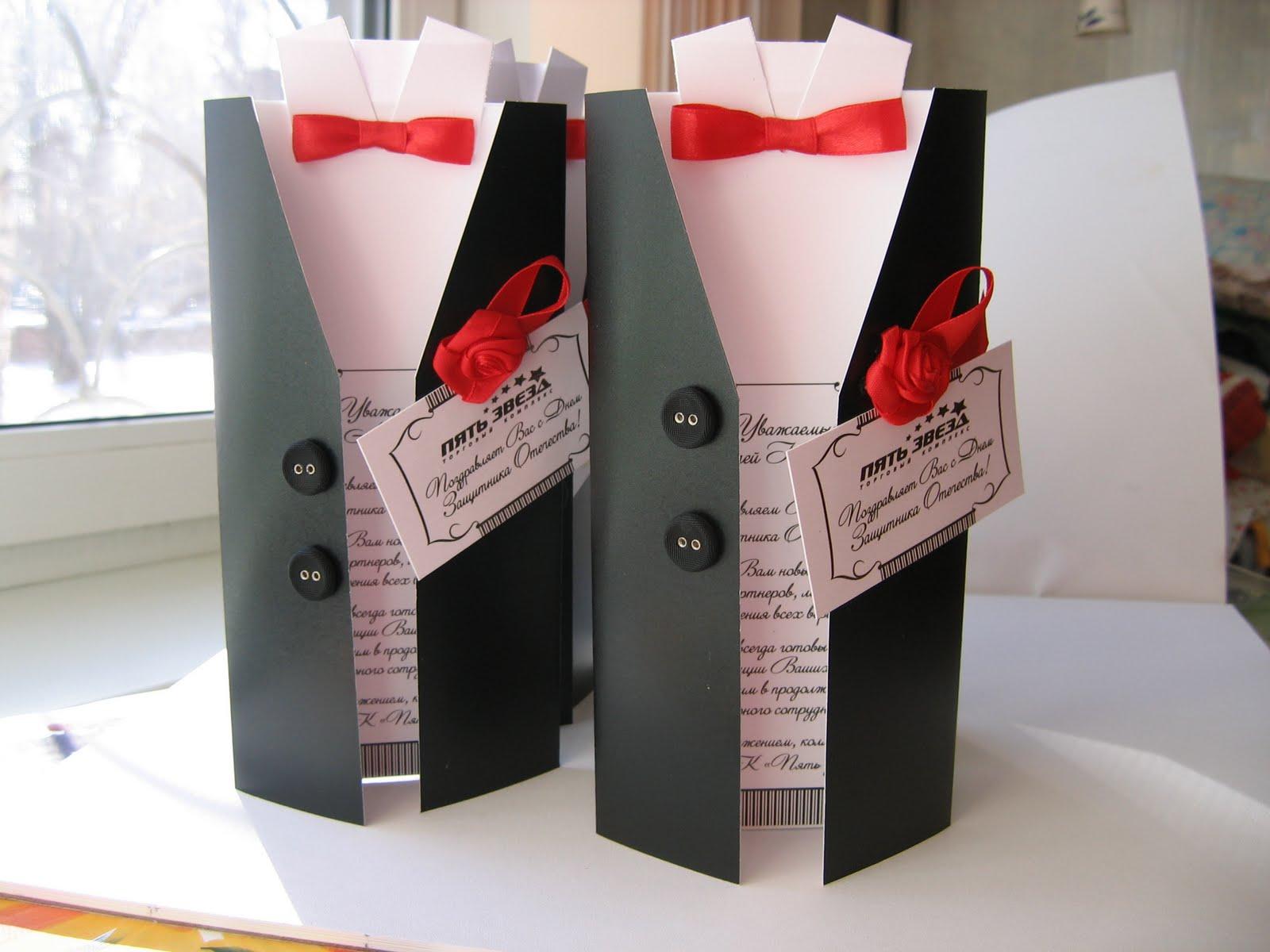 Подарки своими руками мужчине на 23 февраля