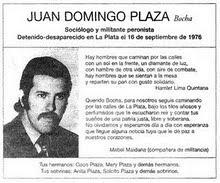 Compañero Bocha Plaza Presente