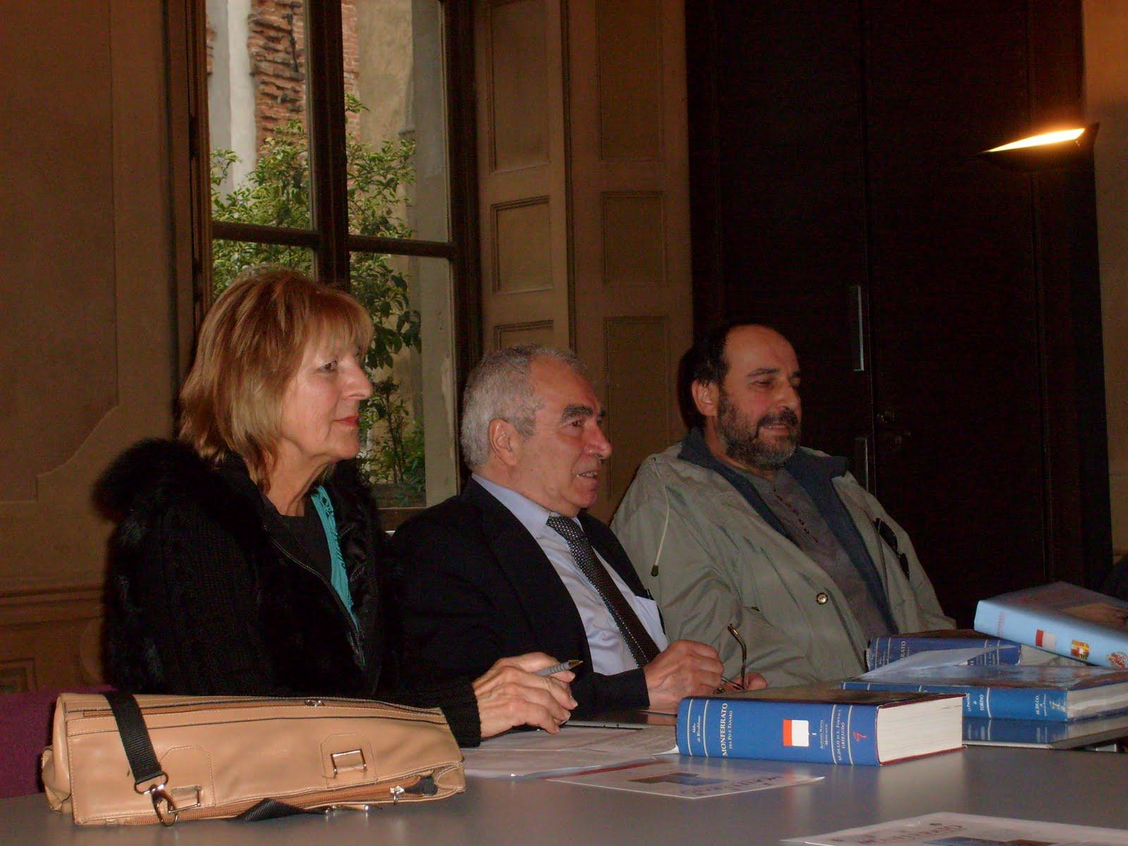Conferenza Stampa di presentazione del prossimo volume sul Monferrato dell'editore Lorenzo Fornaca