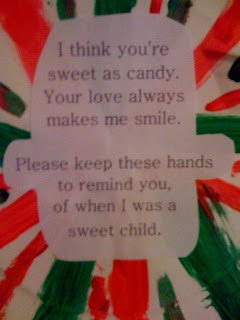 Daily Life of a Mommy to a Princess: Peppermint Candy with Poem
