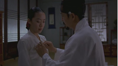 Korean actress Jeon Do-yeon's sex scene in Untold Scandal (2003)