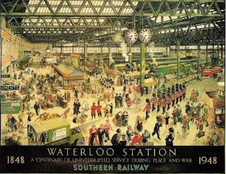 waterloo station in london