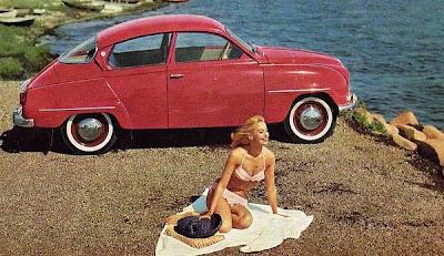 Saab 96 Bikini