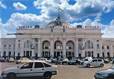 Passagierbahnhof von Odessa (Odessaer Voksal)