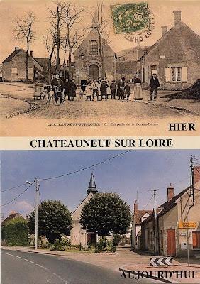 Châteauneuf-sur-Loire Hier et aujourd'hui