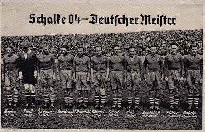 Deutscher Meister Schalke 04 am 21. Juli 1940