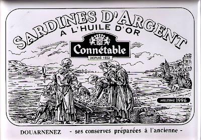 Connétable Sardines D' Argent