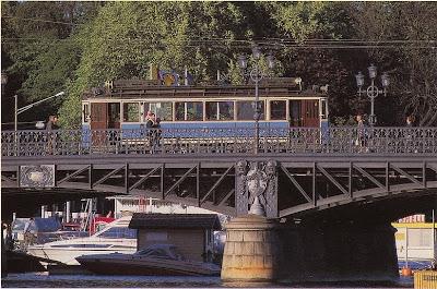 Djurgårdsbron - Djurgårdslinie - Schweden