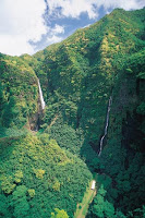 Waterfalls In the Marquesas