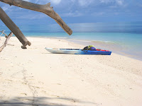 Kayak on Palau beach
