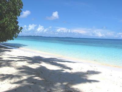 Ulong Beach, Palau Southern View