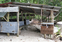 Shack on Lee Marvin Beach, Palau