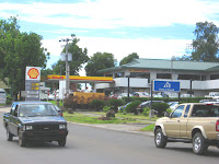 Gas station in Koror, Palau