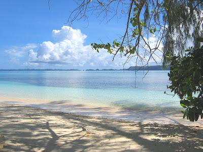 Beach close to Margie's 2, Palau
