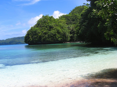 Beach close to Margie's 3, Palau