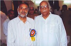 डॉ. शिवकुमार मिश्र के साथ