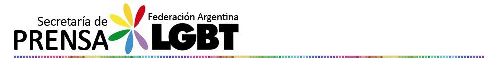 Secretaría de Prensa - Federación Argentina LGBT