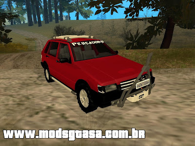 Fiat Uno OFF-ROAD para GTA San Andreas