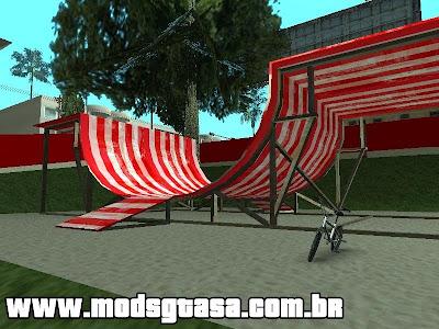 Novo Parque de Bicicletas em LS para GTA San Andreas