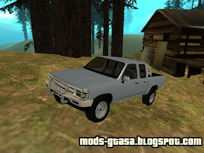 Toyota Hilux Cabine Dupla para GTA San Andreas