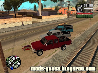 Toyota Hilux Edition para GTA San Andreas