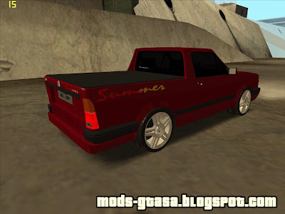 Vw Saveiro Summer Edit para GTA San Andreas