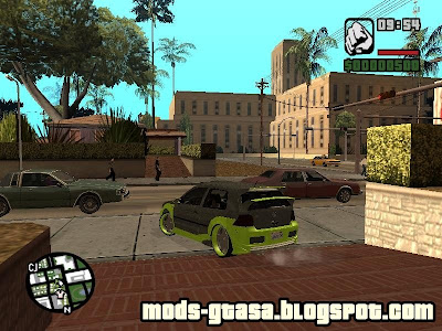Vw Golf R32 Tuned para GTA San Andreas