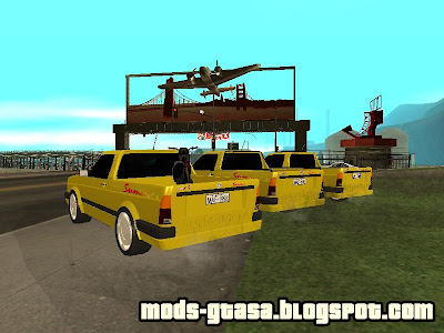 VW Saveiro Summer 96 para GTA San Andreas